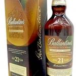 ballantine golden zest 21 years old