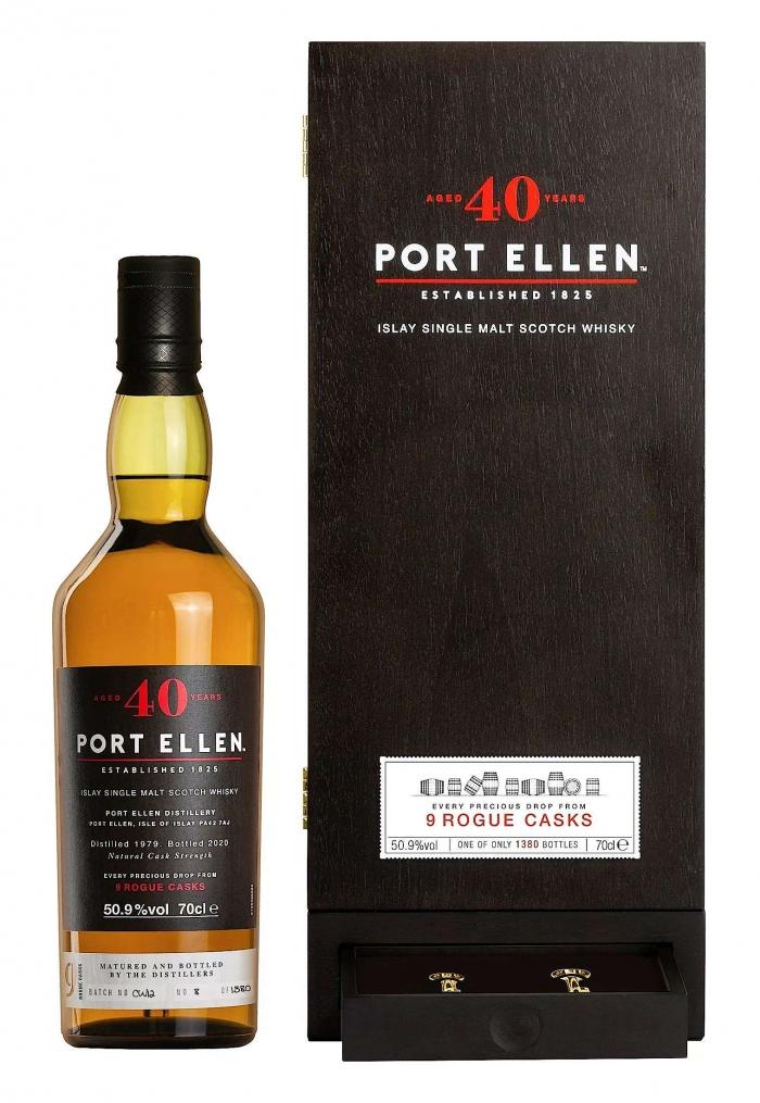 ポートエレン 40年 ウイスキー 新発売